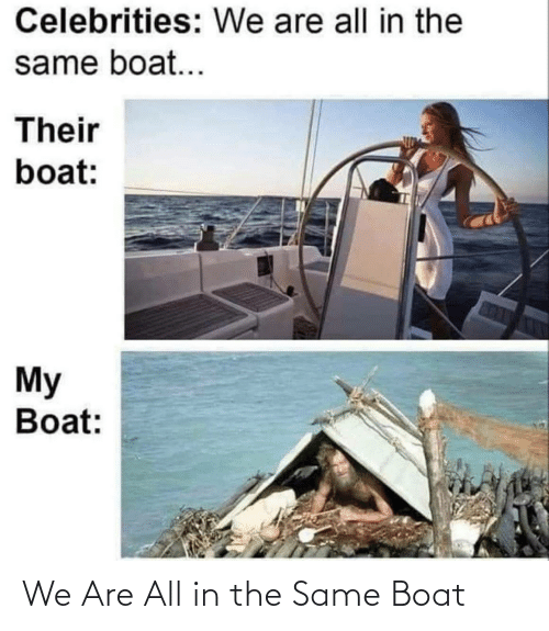 All In: We Are All in the Same Boat
