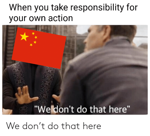 We Don: We don't do that here