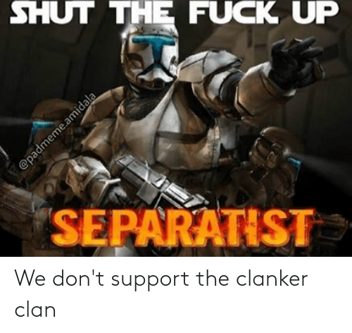 support: We don't support the clanker clan