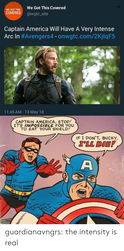 WE GOT THIS COVERED We Got This Covered Captain America Will