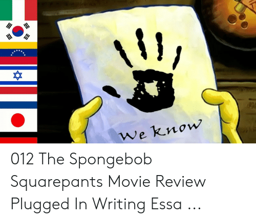 Plugged In Review >> We Know 012 The Spongebob Squarepants Movie Review Plugged In