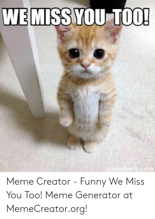 25 Best Memes About Miss You Too Meme Miss You Too Memes