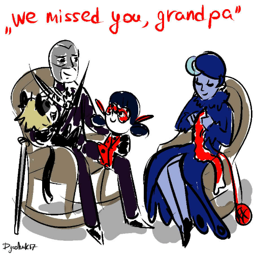 """Grand, You, and Missed: we missed you, grand pa""""  Pchuk"""