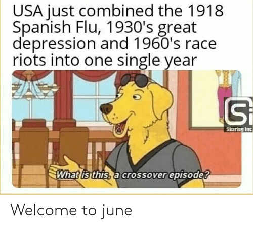 Welcome To: Welcome to june