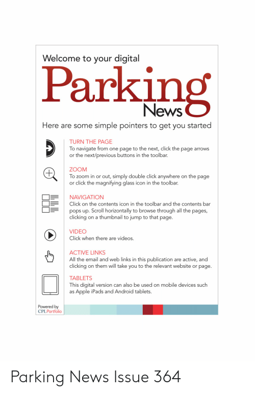 Welcome to Your Digital Parking News Here Are Some Simple