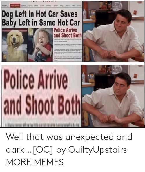 dark: Well that was unexpected and dark…[OC] by GuiltyUpstairs MORE MEMES