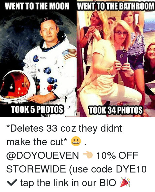 Mooned: WENT TO THE MOON WENT TOTHE BATHROOM  TOOK 5 PHOTOST  TOOK 34 PHOTOS *Deletes 33 coz they didnt make the cut* 😬 . @DOYOUEVEN 👈🏼 10% OFF STOREWIDE (use code DYE10 ✔️ tap the link in our BIO 🎉