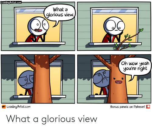 Glorious: What a glorious view