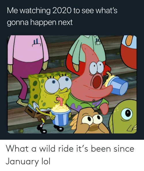 ride: What a wild ride it's been since January lol