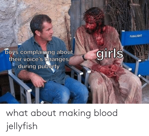 blood: what about making blood jellyfish