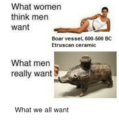 what women think about men