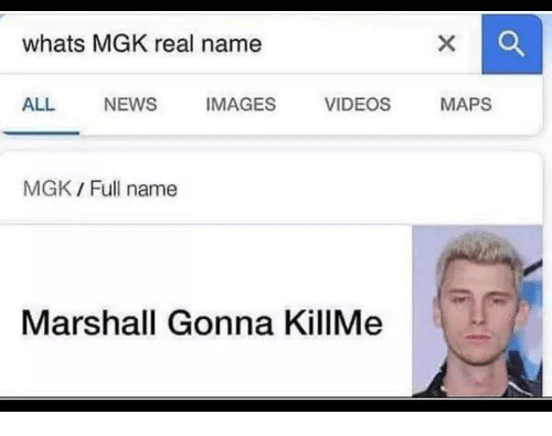 Whats Mgk Real Name All News Images Videos Maps Mgk Full Name