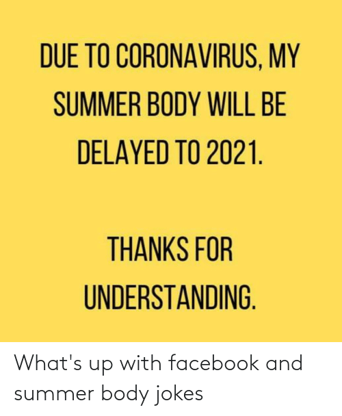 Summer Body: What's up with facebook and summer body jokes