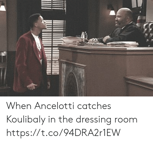 Memes, 🤖, and Ancelotti: When Ancelotti catches Koulibaly in the dressing room  https://t.co/94DRA2r1EW