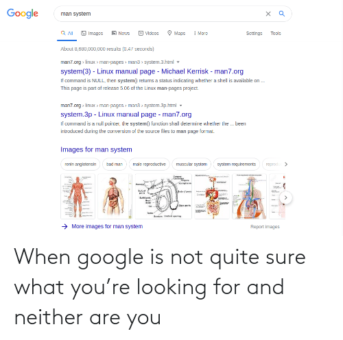 Neither: When google is not quite sure what you're looking for and neither are you