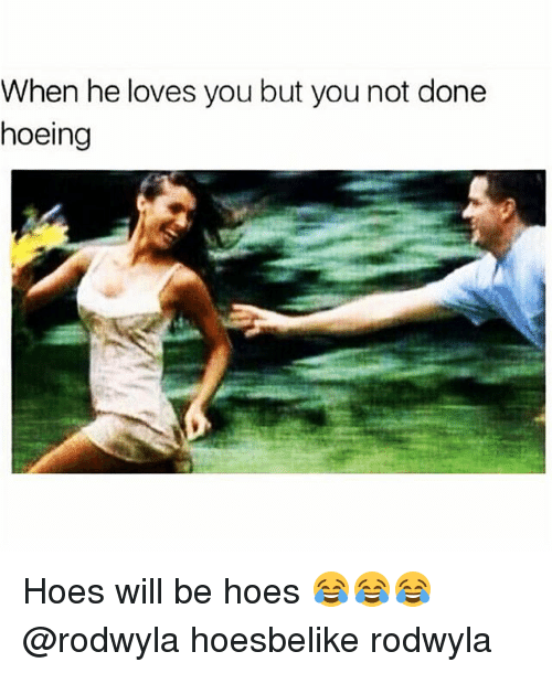 Hoes Will Be Hoes