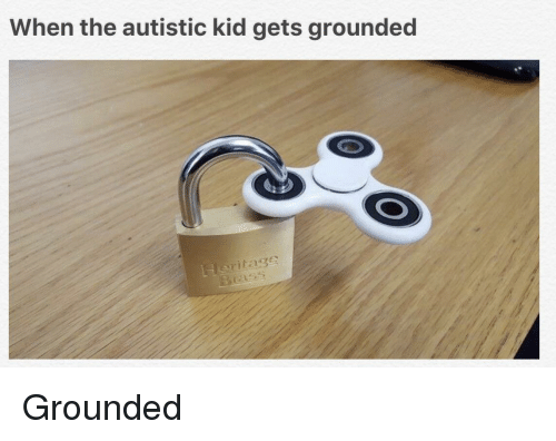 Gets Grounded: When the autistic kid gets grounded  Heritage <p>Grounded</p>