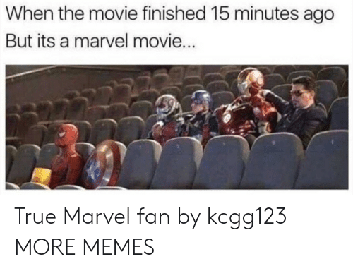 Dank, Memes, and Target: When the movie finished 15 minutes ago  But its a marvel movie True Marvel fan by kcgg123 MORE MEMES