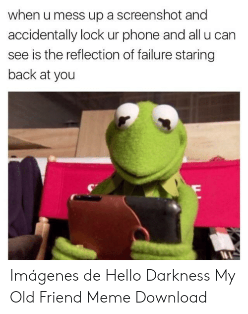 25 Best Memes About Hello Darkness My Old Friend Song