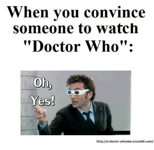 doctor who memes tumblr