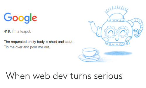 web: When web dev turns serious