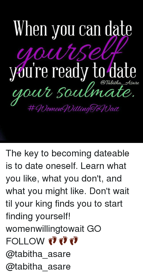 how to know when you are ready to start dating
