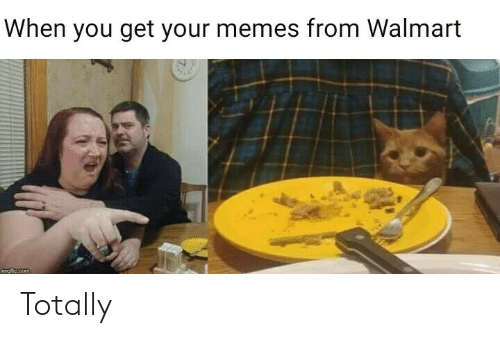 Get Your: When you get your memes from Walmart  mofio.com Totally