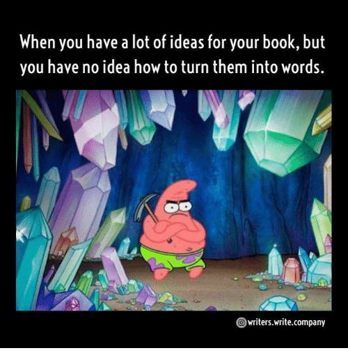 Book, How To, and How: When you have a lot of ideas for your book, but  you have no idea how to turn them into words.  writers.write.company