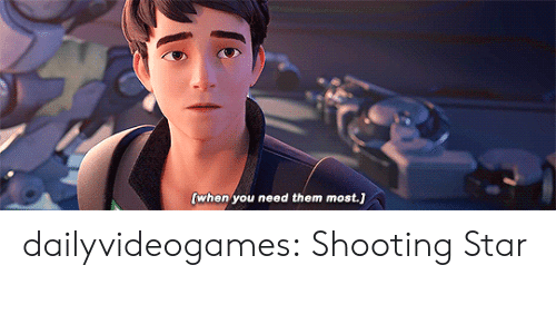 shooting star: when you need them most.] dailyvideogames: Shooting Star