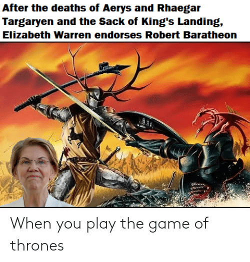 thrones: When you play the game of thrones