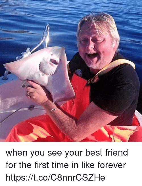 When You See Your Best Friend: when you see your best friend for the first time in like forever https://t.co/C8nnrCSZHe