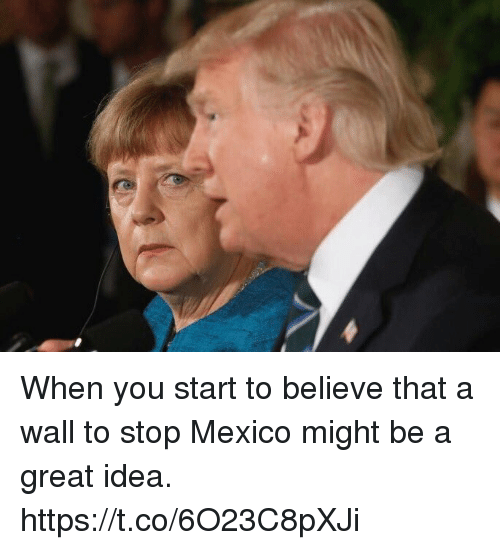 Soccer, Mexico, and Idea: When you start to believe that a wall to stop Mexico might be a great idea. https://t.co/6O23C8pXJi
