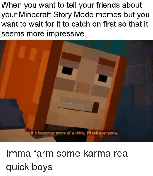 hilarious minecraft story mode memes