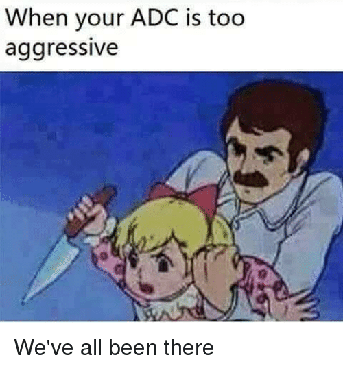adc: When your ADC is too  aggressive We've all been there