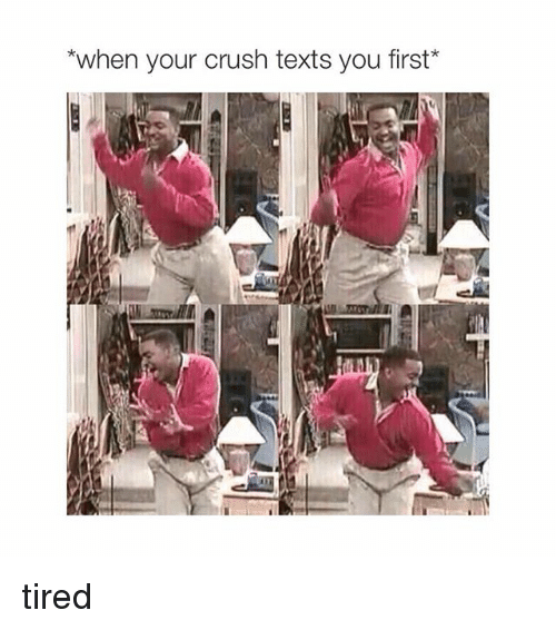 When Your Crush Texts You