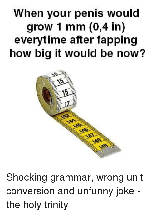 When does a penis stop growing