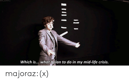 Life, Target, and Tumblr: Which is... what Uplan to do in my mid-life crisis. majoraz:(x)