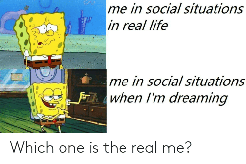 The Real: Which one is the real me?