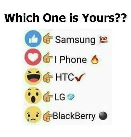 i phone: Which one is Yours??  Samsung  O I Phone  O  HTC,  LG  BlackBerry O