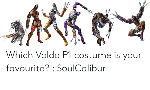 Which Voldo P1 Costume Is Your Favourite? SoulCalibur | Soulcalibur