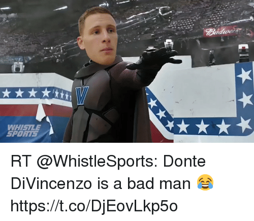 Divincenzo: WHISILE  SPORT5 RT @WhistleSports: Donte DiVincenzo is a bad man 😂 https://t.co/DjEovLkp5o