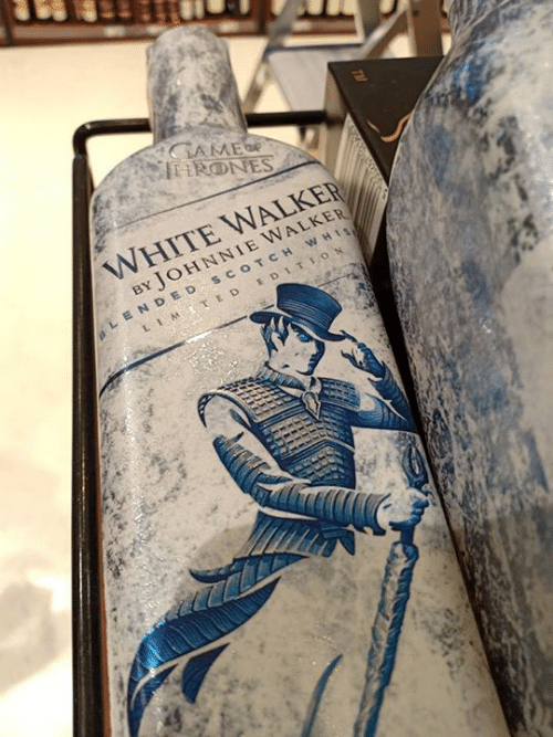 scotch: WHITE WALKER  BY JOHNNIE WALKER  LENDED scOTCH WHI  LIM., E D EDITION