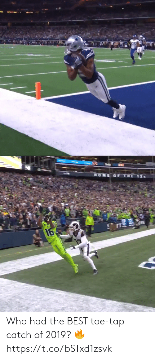 Had: Who had the BEST toe-tap catch of 2019? 🔥 https://t.co/bSTxd1zsvk