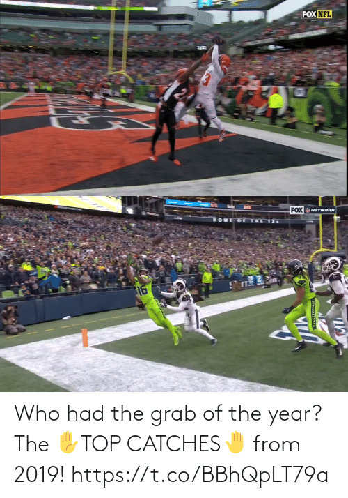 From: Who had the grab of the year?   The ✋TOP CATCHES🤚  from 2019! https://t.co/BBhQpLT79a