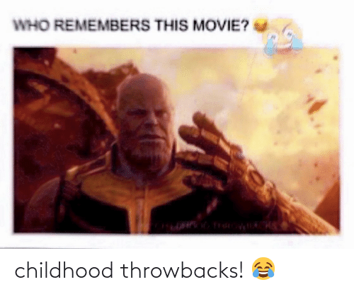 Movie, Who, and This: WHO REMEMBERS THIS MOVIE? childhood throwbacks! 😂