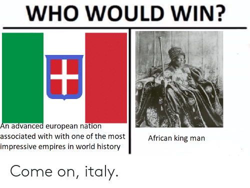 WHO WOULD WIN? An Advanced European Nation Associated With