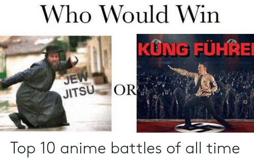 Top 10 Anime: Who Would Win  KUNG FÜHRE  JE  JITSU OR Top 10 anime battles of all time