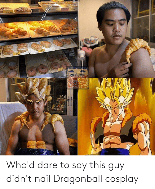Cosplay: Who'd dare to say this guy didn't nail Dragonball cosplay