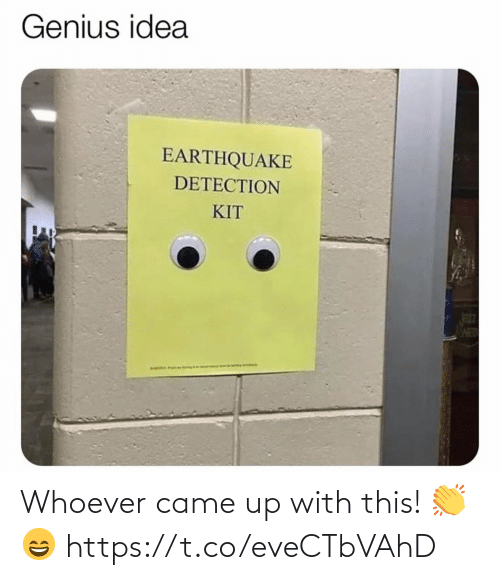 Whoever: Whoever came up with this! 👏😄 https://t.co/eveCTbVAhD