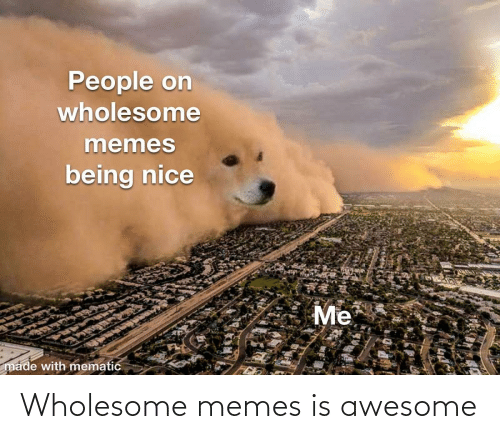 Wholesome: Wholesome memes is awesome